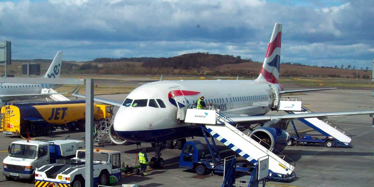 Fear of flying courses at Edinburgh Airport