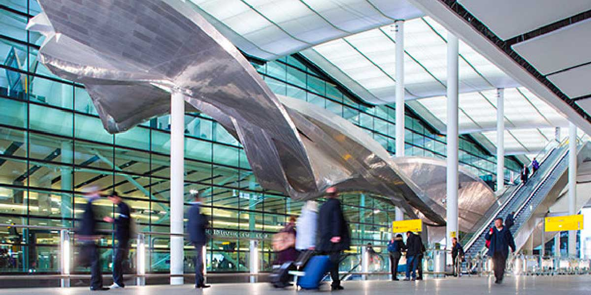 Fear of flying courses at Terminal 5 London Heathrow Airport